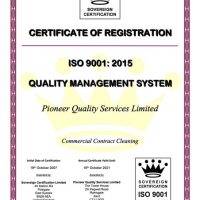 PQS - ISO9001 Certificate (2015) 2020-2021 cleaning - PQS ISO9001 Certificate 2015 2020 2021 200x200 - Pioneer Quality Services – Homepage